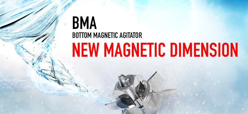 INOXPA presenta la nueva gama de agitadores magnéticos BMA