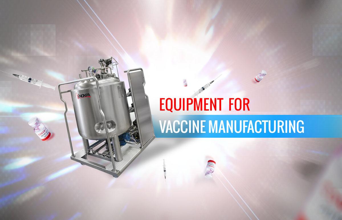 Equipos para producción de vacunas