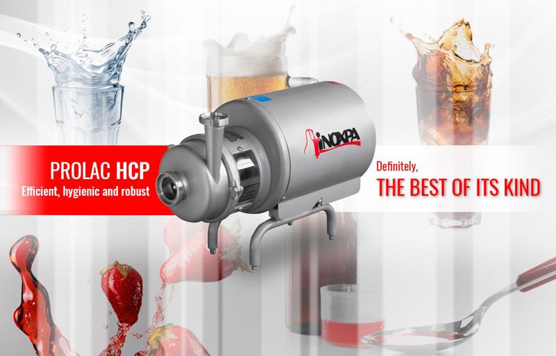 Bomba PROLAC HCP: Eficiente, higiénica y robusta