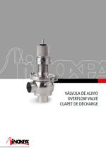 Válvula de alivio / Overflow valve / Clapet de décharge