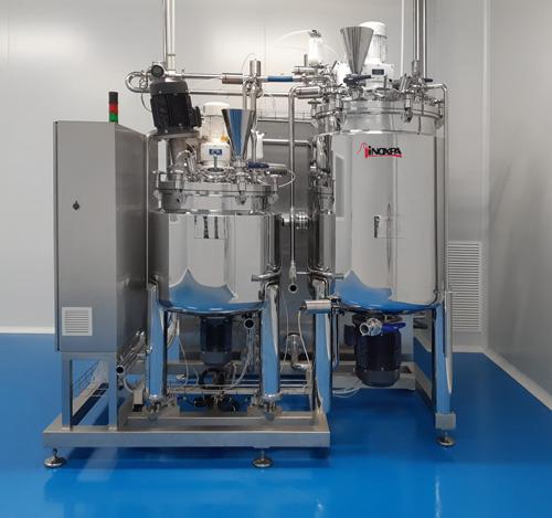 Planta para la producción de tintes, geles y cremas
