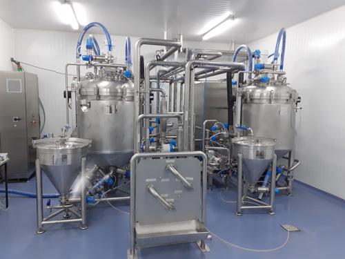 Proceso de producción de gelatinas, puddings y mousses