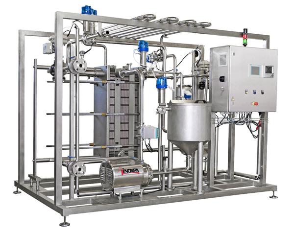 Pasteurizadores automáticos para golosina líquida