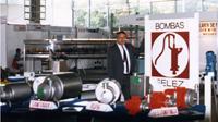 Candi Granés funda INOXPA a partir de la empresa Bombas Félez, dedicada a la fabricación de bombas de agua.